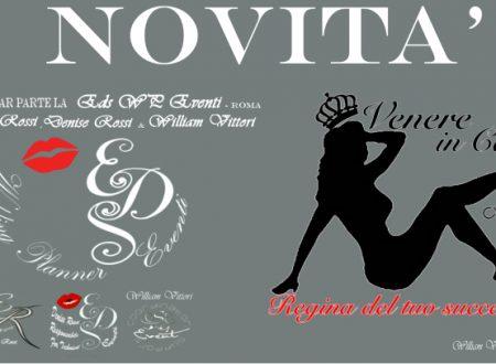 """VENERE IN CARNE – The Curvy Talent di Elisabetta Viccica da oggi in Collaborazione con la Eds WP Eventi """"Roma"""""""
